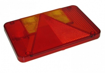 Lens for left-hand 6 function rear light