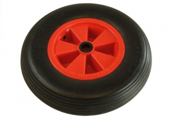 Inflatable 400-8 launch trolley wheel