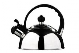 1.1 litre stainless steel  kettle