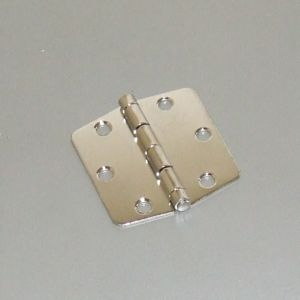 Butterfly hinge 73x75 s/s