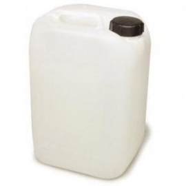 10 litre water container white