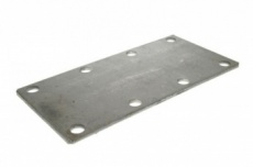 Mounting plate for 750kg suspension units