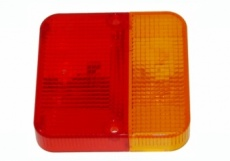 Lens for budget rear combination lamp