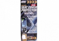 Universal nylon rear seat cover