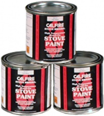 Matt black stove paint 250ml