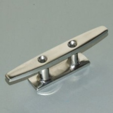 Stainless lashing cleat 2 hole