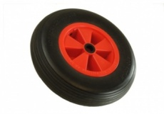 Puncture proof 400-8 launch trolley wheel